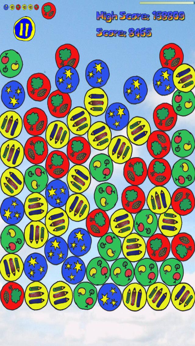 Yajaira Bubble (Physics Brain Game) screenshot 1