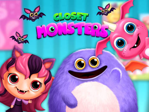 Closet Monsters - Create and Take Care of Your Baby Monster screenshot 6