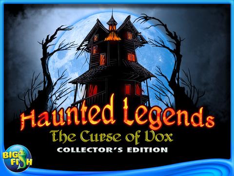 Haunted Legends: The Curse of Vox HD - A Hidden Objects Adventure screenshot 5