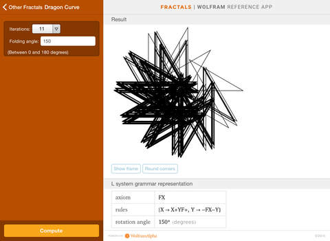 Wolfram Fractals Reference App screenshot 10