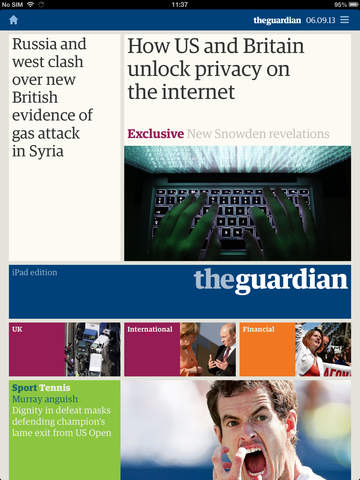 Guardian Daily screenshot 6