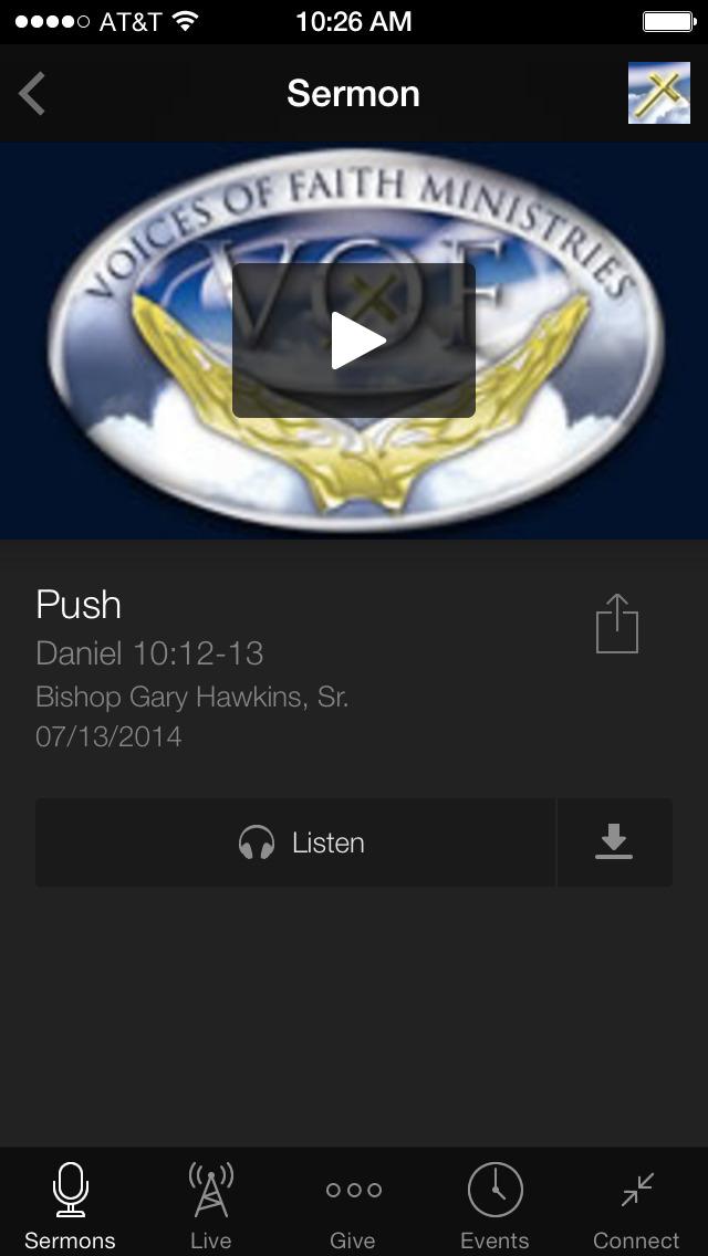Voices Of Faith Ministries screenshot 3