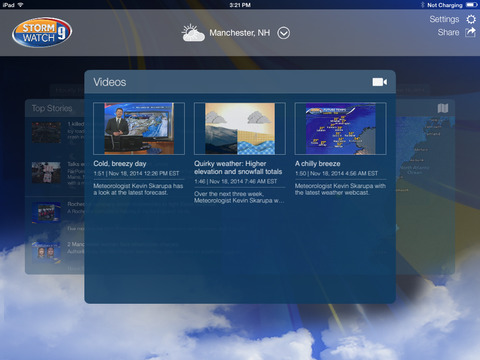 WMUR Weather | Apps | 148Apps