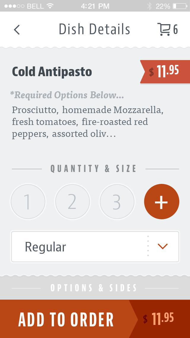 Gaetana's Cucina Italiana screenshot 4