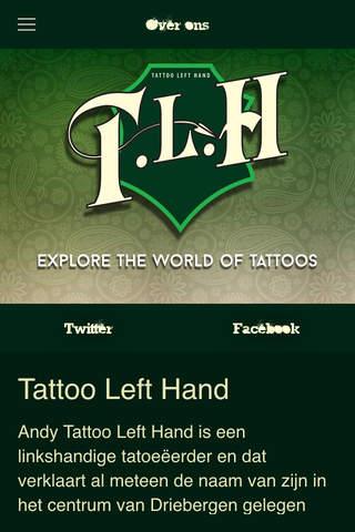 Tattoo Left Hand - náhled