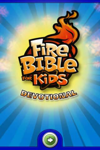 Fire Bible for Kids Devotional APP - náhled