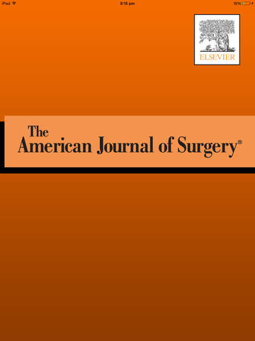 American Journal of Surgery screenshot 6