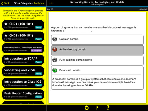 CCNA Routing and Switching Practice For Dummies screenshot 7
