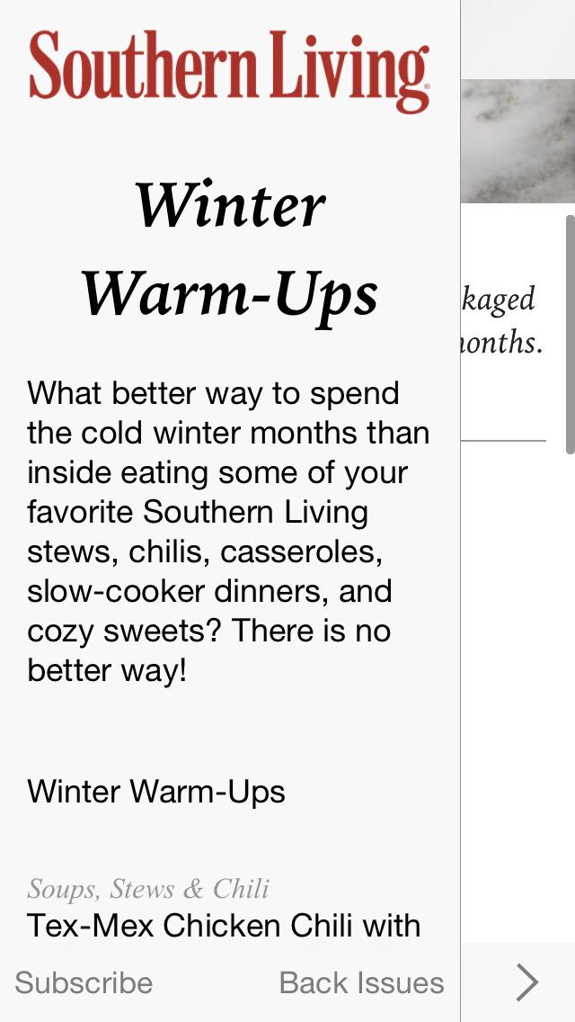 Southern Living Seasonal Recipes screenshot 3