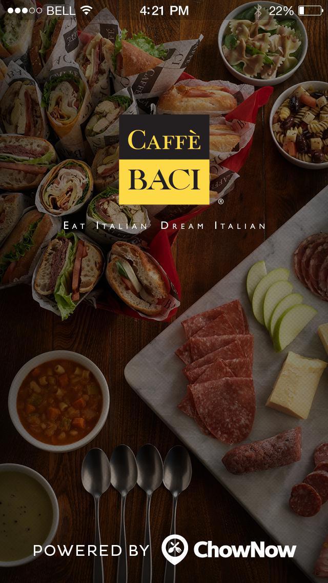 Caffe Baci screenshot 1