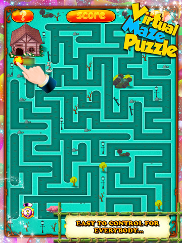 Virtual Maze Puzzle screenshot 9
