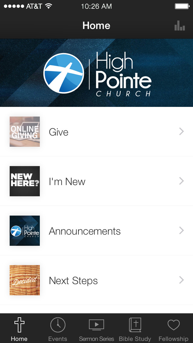 High Pointe Church Thompson CT screenshot 1