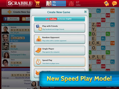 SCRABBLE Premium for iPad screenshot #2
