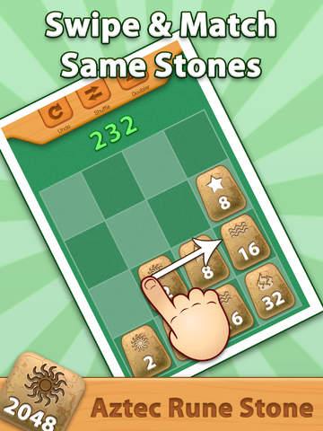 2048 Aztec Rune Stones Pro screenshot 7
