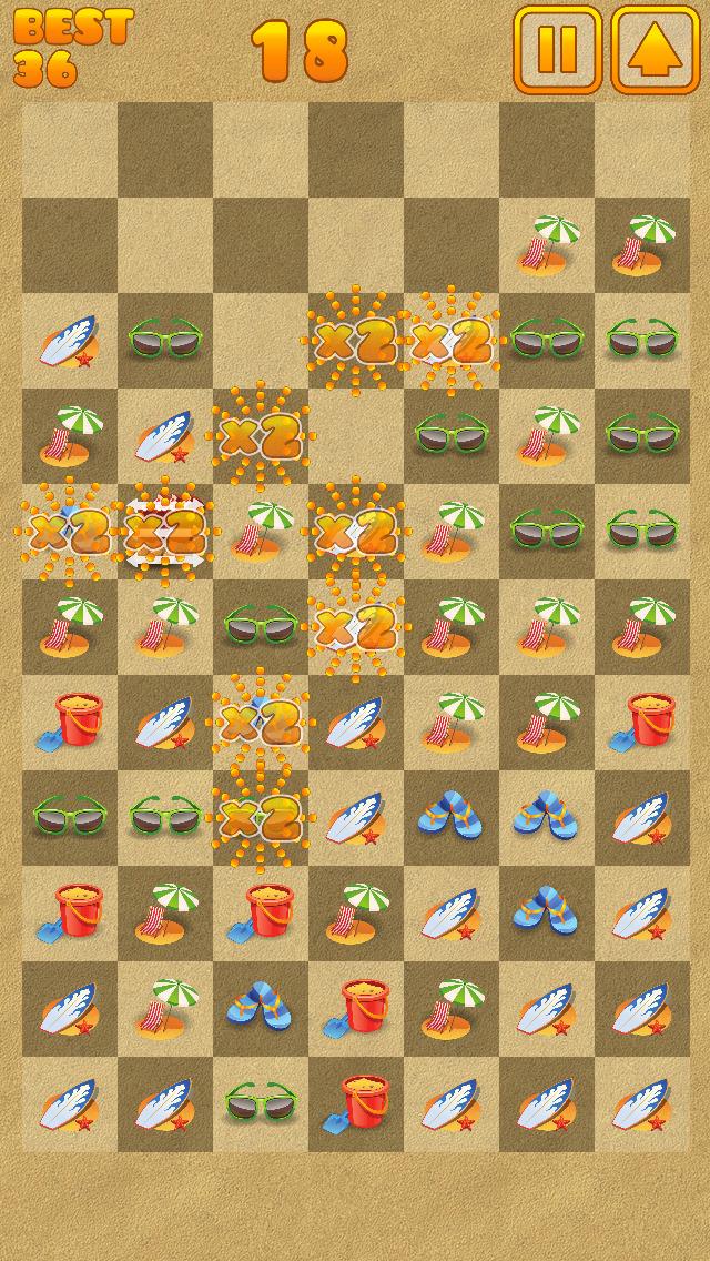 Beach Swipe Blitz screenshot 3