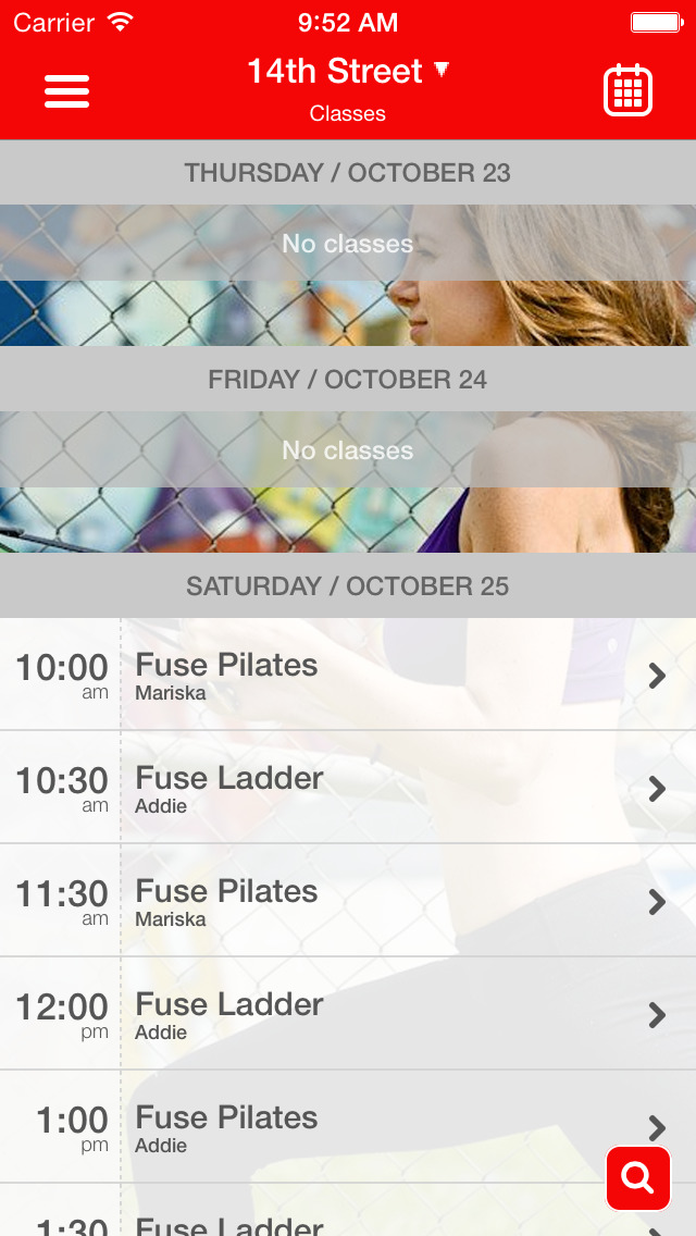 Fuse Pilates screenshot #3