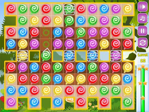 Sweet Candies - Lollipop Candy Match-3 Puzzle Game screenshot 5
