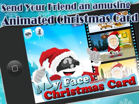 My Face Christmas Card (Animated) screenshot 5