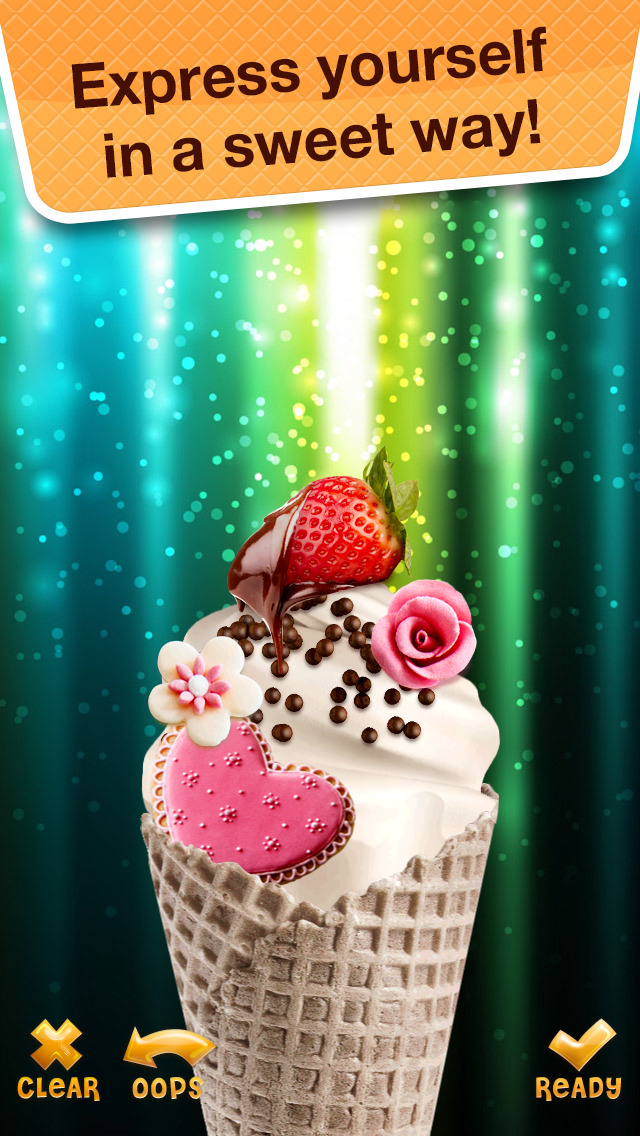 Sundae for Messenger - Make Yummy Desserts with Ice Cream Maker Game screenshot 3