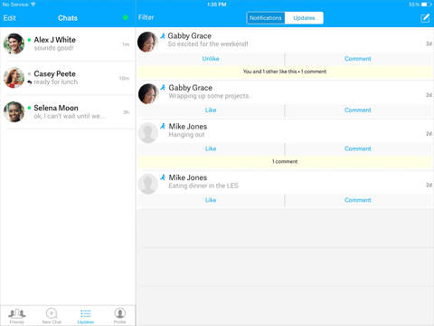 AIM: Chat, Free Text, Photo Share, Voice Message screenshot 9