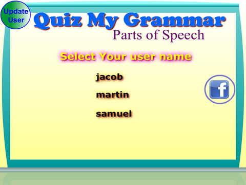 Quiz My Grammar Parts of Speech Lite screenshot 4