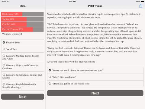 Choice of the Petal Throne screenshot 8