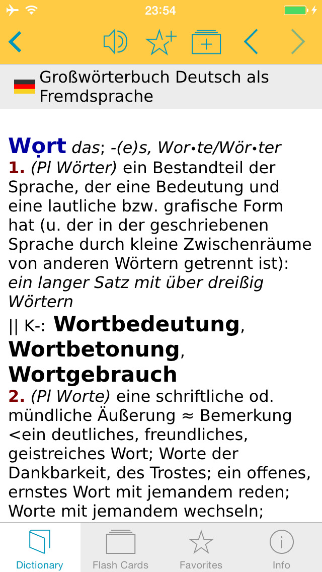 German Learner's Dictionary screenshot 5