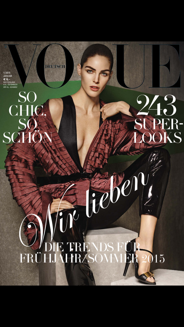 Vogue (Deutsch) screenshot 1