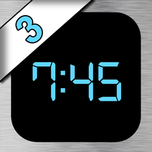 iDigital Big3 Alarm Clock Widget