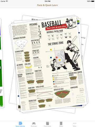Dictionary of Sports: Flashcard with Free Video Lessons and Cheatsheets screenshot 7