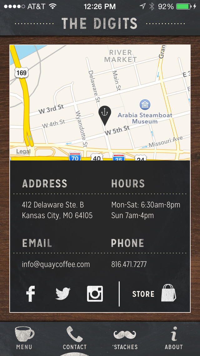 Quay Coffee screenshot 2
