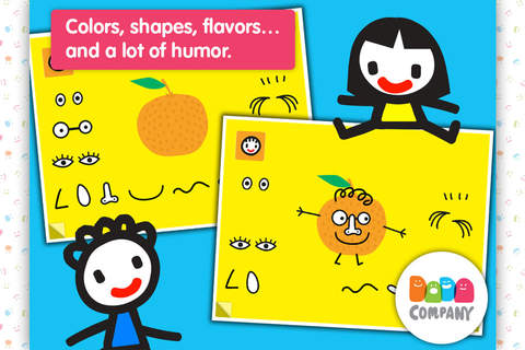 D5EN5: Fruits - An interactive game book for child - náhled