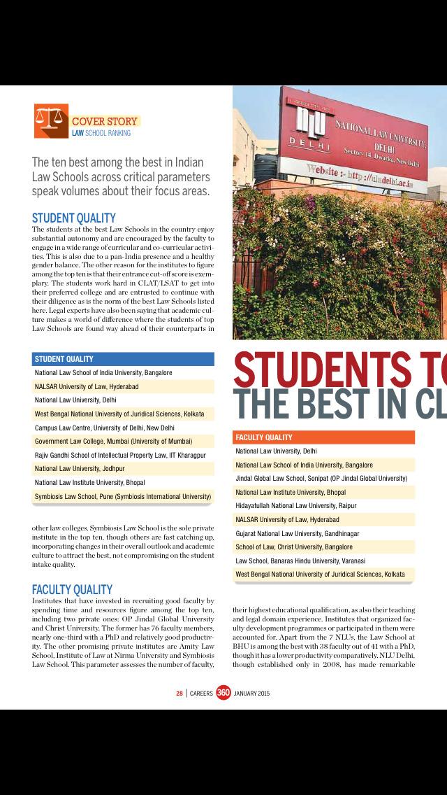 Careers 360 Magazine screenshot 4