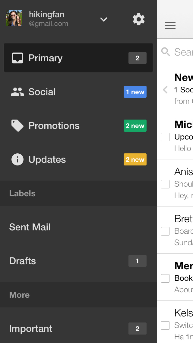 Gmail - Email by Google screenshot 5