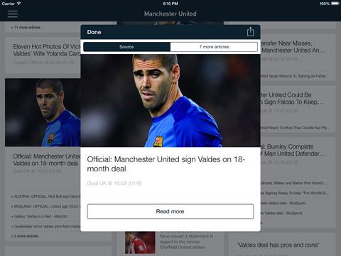 Foot Reader : mercato Football screenshot 5