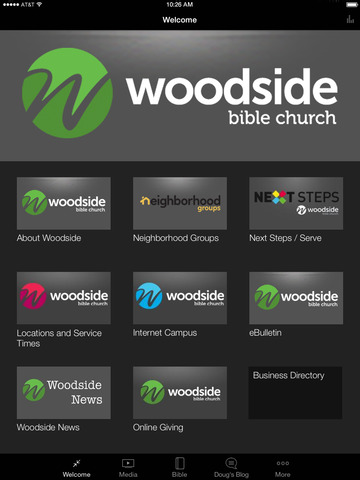 Woodside Bible Church screenshot 4