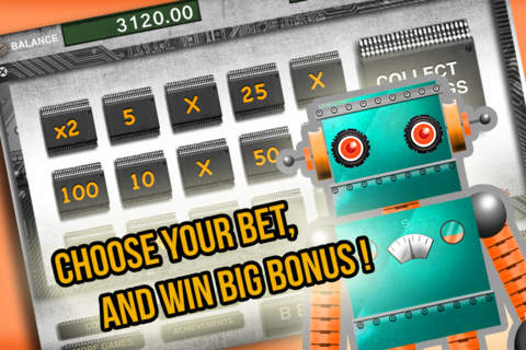 AAA Ace Robotic Slots - Spin Robot to win prize of - náhled