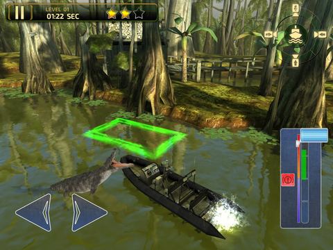 3D Swamp Parking PRO - Full Jet Boat Driving & Racing Version screenshot 10