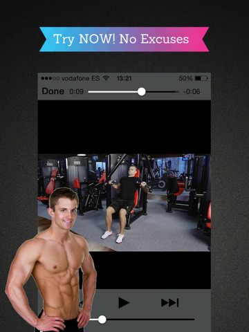 Body You Want: Get an Athletic Shape and Build Muscle Mass with Best Fitness Exercise at Gym screenshot 7