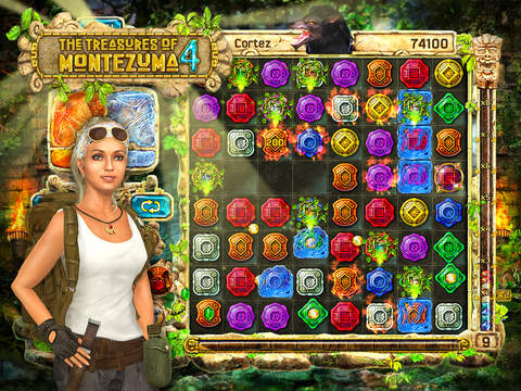 The Treasures of Montezuma 4 HD Free screenshot 4