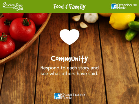 Food & Family from Chicken Soup for the Soul ® screenshot 9