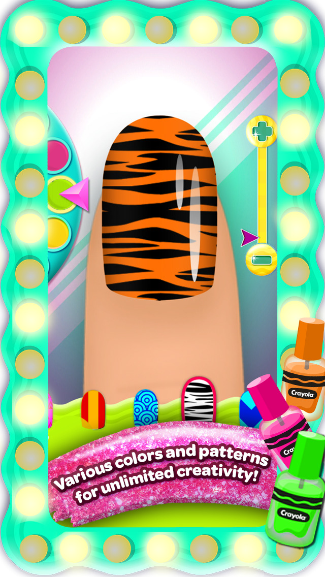 Crayola Nail Party – A Nail Salon Experience screenshot 3