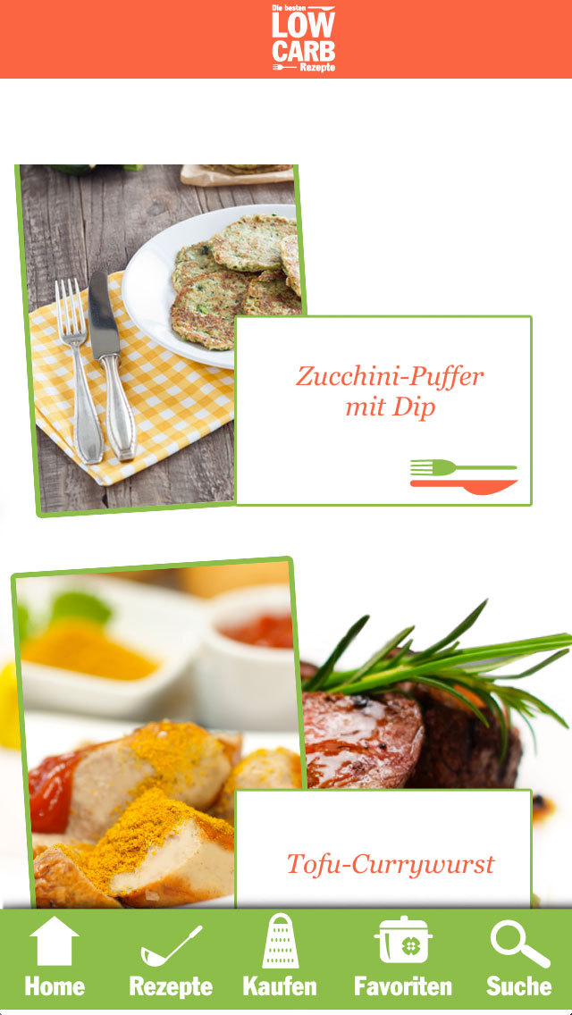Low Carb Rezepte - Diät screenshot 4