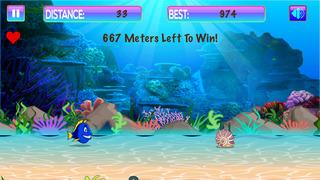 Super Dupa Blue Fish Scuba Run screenshot 1