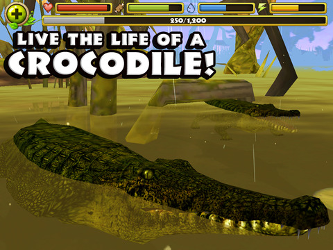 Wildlife Simulator: Crocodile screenshot 6