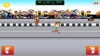 ` Hipster Race Running Battle Competition Games Work-out Free Fun screenshot 3
