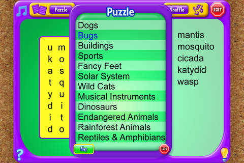 Word Search - An Educational Game from School Zone - náhled