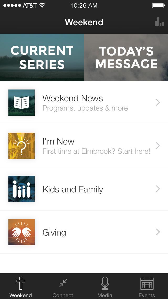 Elmbrook Church screenshot 1