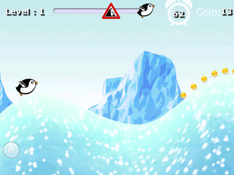 Crazy Penguin Avalanche Racer - amazing downhill racing game screenshot 6