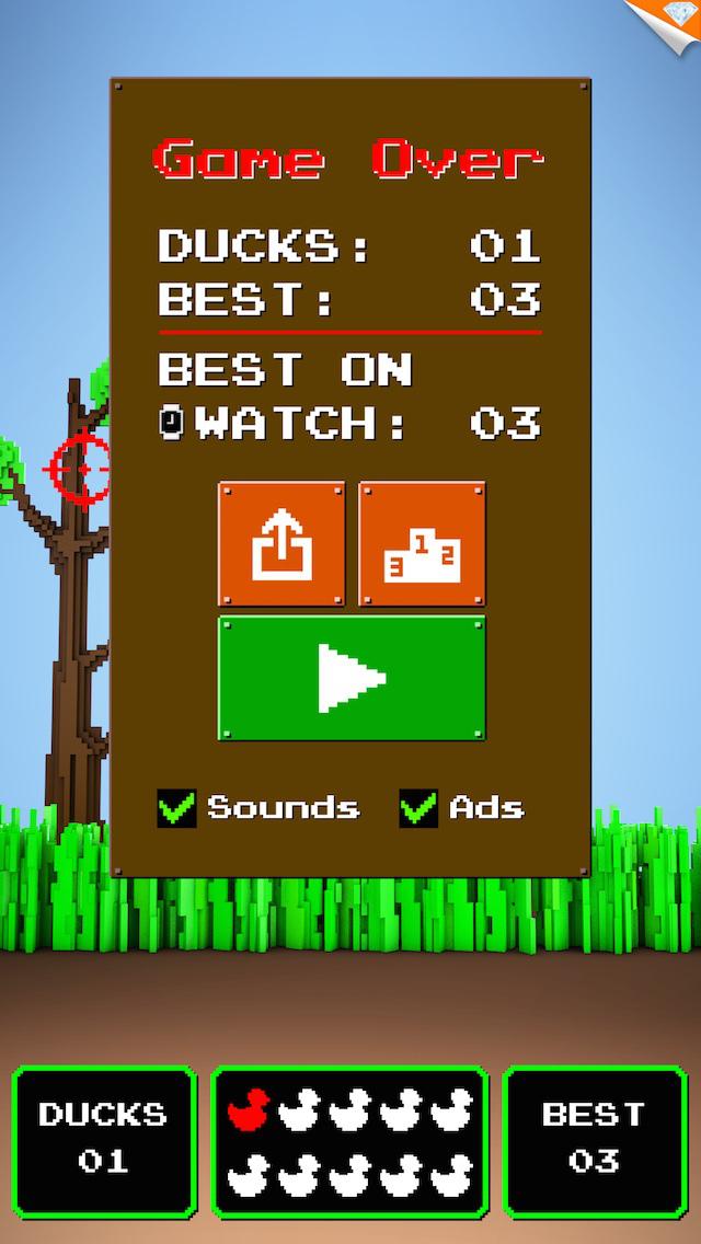 Quacky Hunt ~ it's duck kill season in this hunting sniper shot classic! screenshot 4